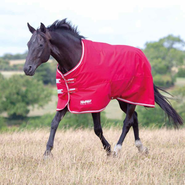 Shires Tempest Original Air Motion Turnout Rug - Red/Grey